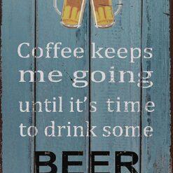 Beer time.