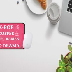 k-pop, coffee, ramen, K-drama