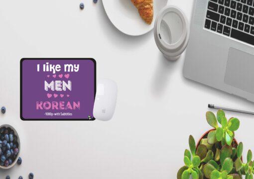 I like my men Korean.