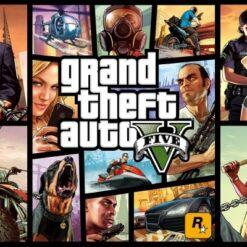green panda GTA gaming posters online india0004