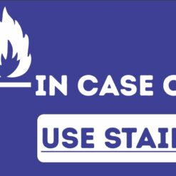 Use Staircase in case of fire