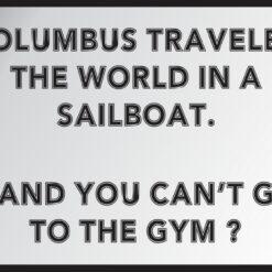 Columbus Traveled