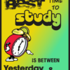 Best time to study