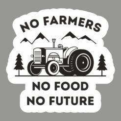 Buy no farmers no food stickers for cars online